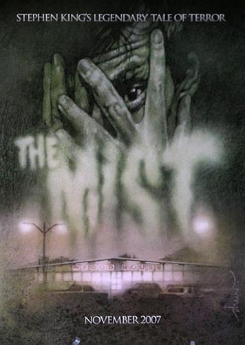 Póster de The Mist presentado en la pasada Comic Con de San Diego